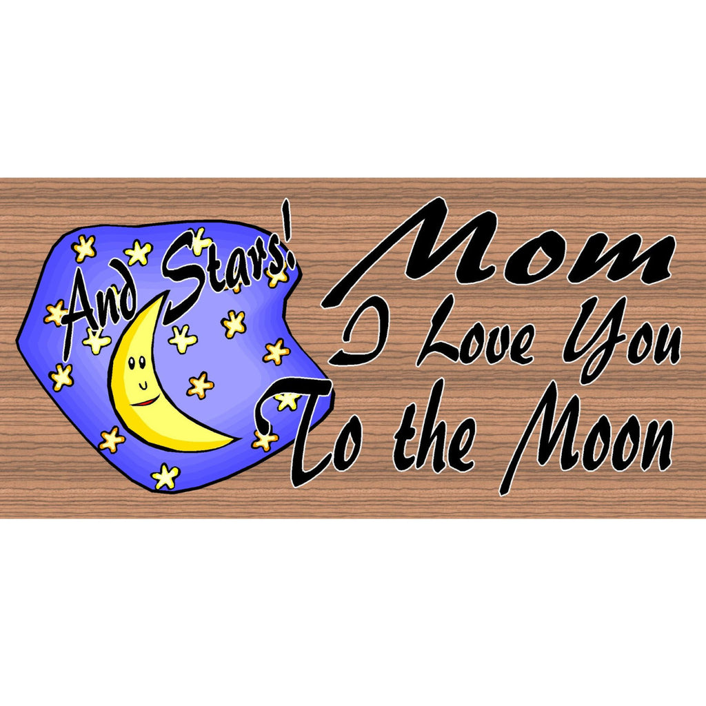 Mom Wood Signs - Handmade Wood Sign Mom - GS1097 - Primitive Handmade Wood plaque Monm - Morhers Day sign - Wood Sign Mom