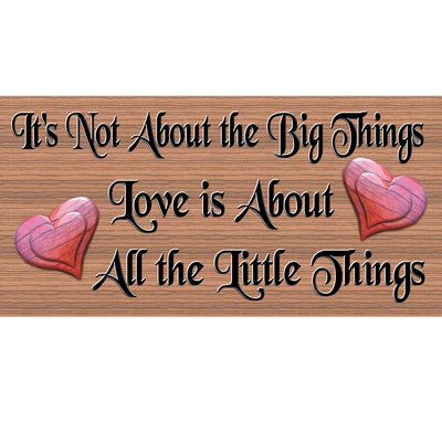 Romantic Wood Signs - GS 1228- Romantic Plaque