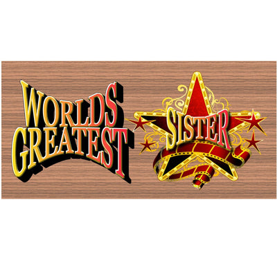Sister Wood Signs -GS 1186 - Sister Plaque