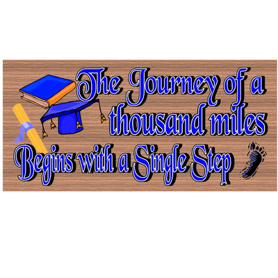 Graduation Wood Signs - GS 949 -Graduation Plaque