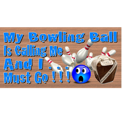 Bowling Wood Signs - GS 1340-Bowline Plaque