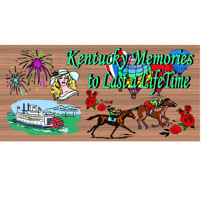 Kentucky Wood Signs -Kentucky Memories