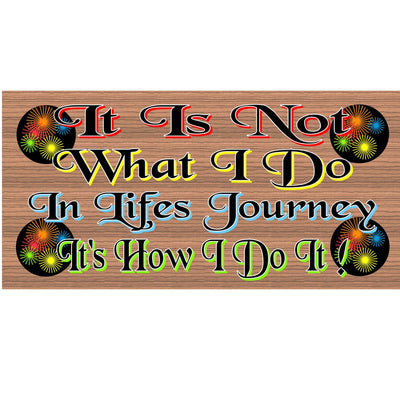 Inspirational Wood Signs - GS 1331-Inspirational Plaque