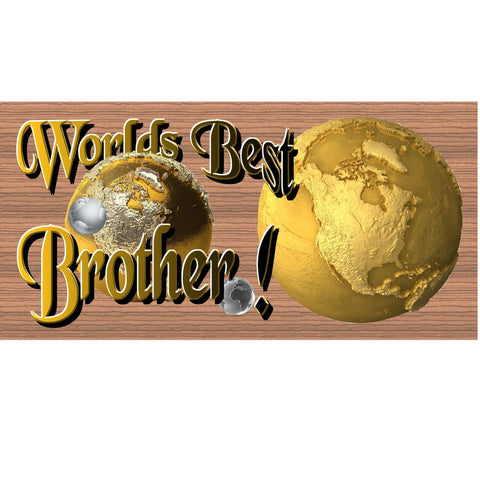 Wood Signs - Handmade Wood Sign Brother- GS1273 -Wood Plaque Primitive Brother - Brother Wood sign