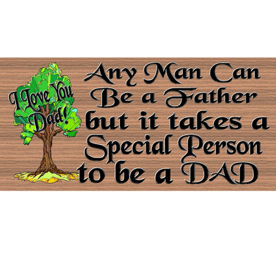 Dad Wood Signs - GS 531 Fathers Day sign - Dad plaque