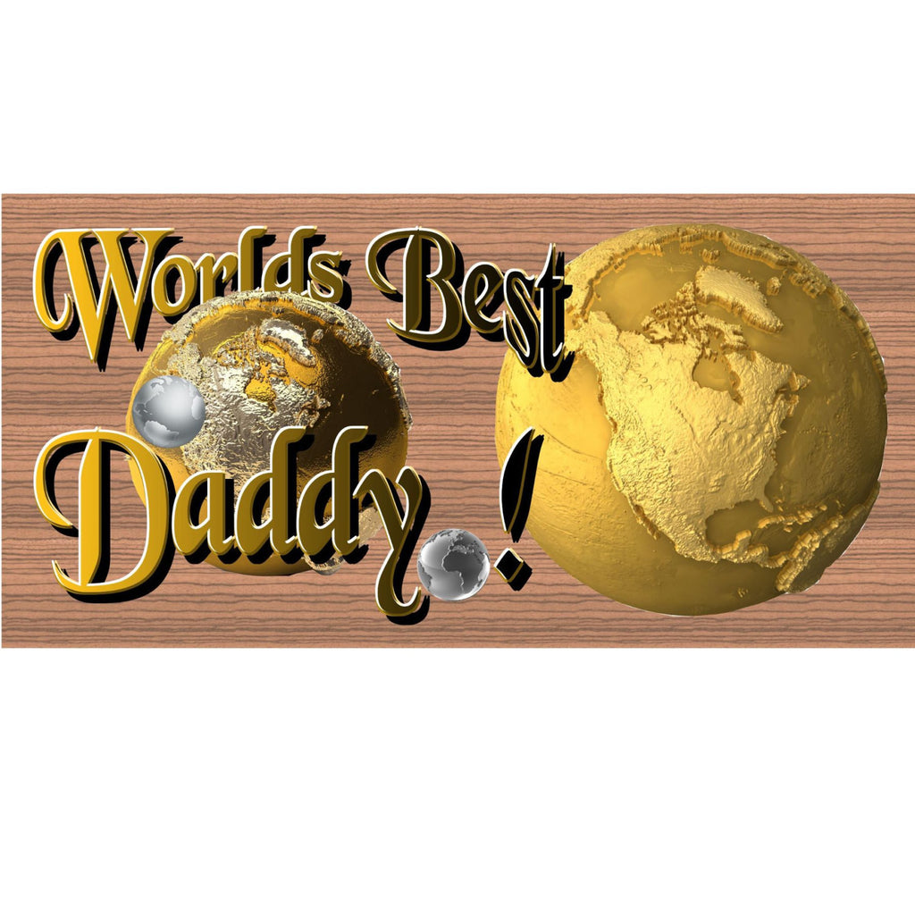 Wood Signs Daddy -GS1376 -Rustic Wood Signs Dad - Wood Signs with Sayings - Wooden sign - Fathers Day wood sign - Father sign