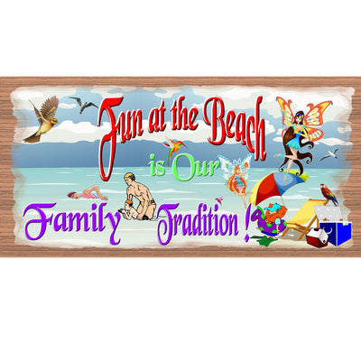 Beach Wood Signs -GS 678 -Tropical Plaque