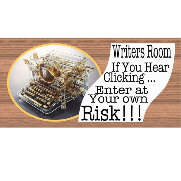 Writer Wood Signs - GS 860 -Child Plaque - Door Sign