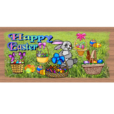 Easter Wood Signs - GS 1717 -Easter Plaque