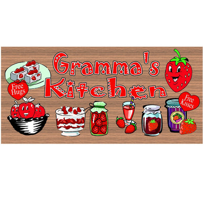 Gramma Wood Signs - GS 1737  Wood Sign Gramma - Wood plaque Gramma