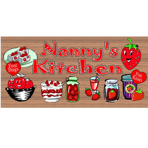 Wood Signs - Handmade Wood Sign Nanny - GS1739 - Handmade Wood Plaque Nanny - Nanny Wood Plaque Primitive - - Mothers Day sign
