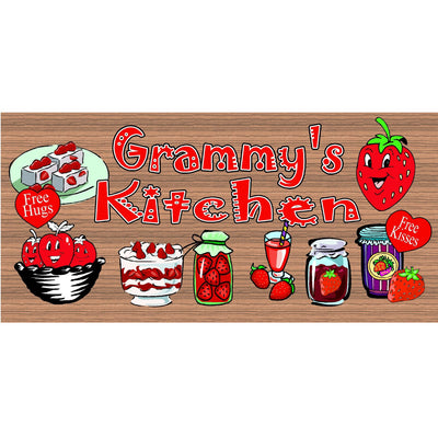 Grammy Wood Signs -  GS1736-  - Grammy Kitchen sign