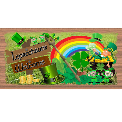 St Patrick Wood Signs- GS 1646 - St Patrick Plaque