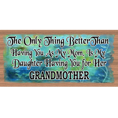 Mom Wood Signs -Mothers Day Sign- GS 1756- Mom Plaque