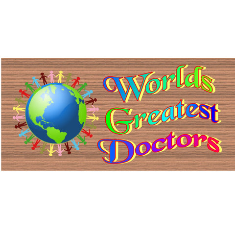 Wood Signs - Doctors sign - Doctor plaque - Doctor gift - GS1771 - Doctor award - Doctor wood sign