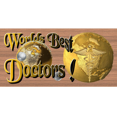 Doctor Wood Signs -GS 1655 - Doctor Plaque