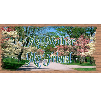 Mom Wood Signs -Mothers Day Sign  - GS 1905 -Mom Plaque