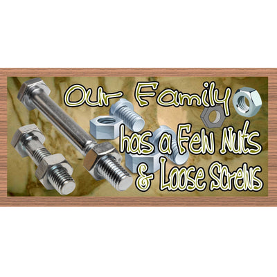 Family Wood Signs - GS 2011 - Family Plaque