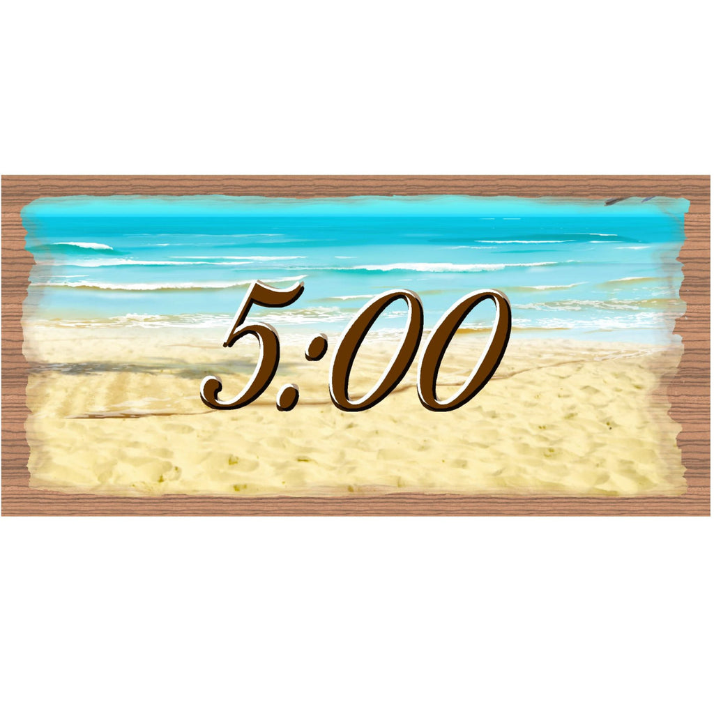 Wood Signs - GS1919 Wood signs with Sayings - Tropical Wood sign - Beach Decor