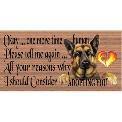 German Shepherd Wood Signs - German Shepherd GS 1892