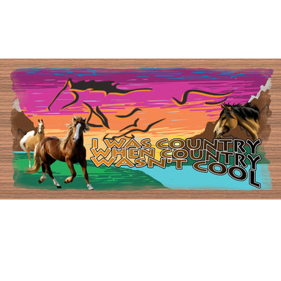 Country Wood Signs - GS 2047 - Country Western Plaque