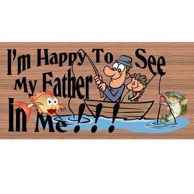 Fishing Wood Signs - GS 2107 - Dad Wood Plaque - Fishing plaque