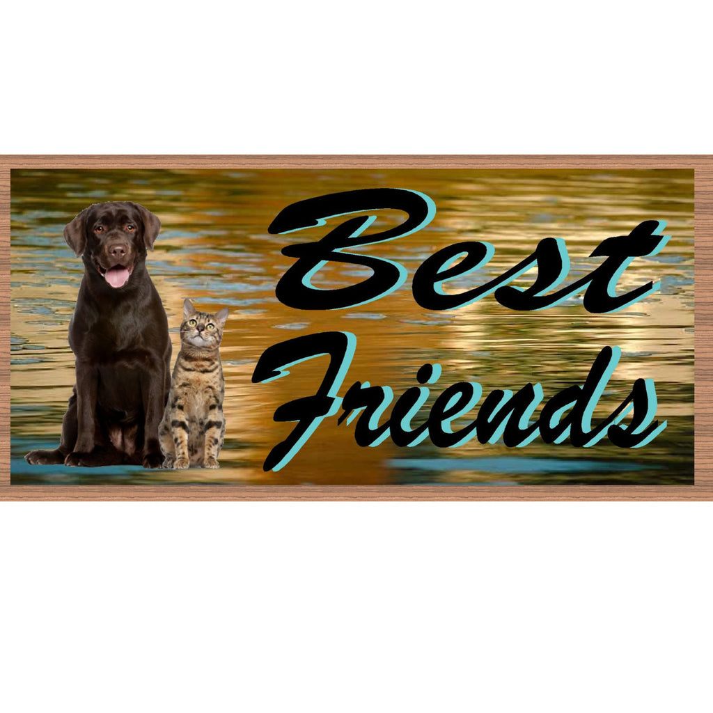 Wood Signs - Best Friends GS1956 Wood Plaque