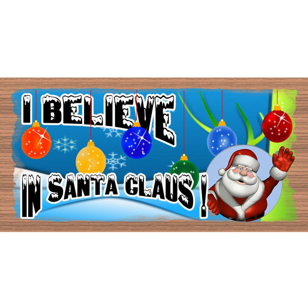Wood Signs - Handmade Wood Sign Santa Claus- GS1462-Wood plaque Christmas -Holiday Snowman Santa
