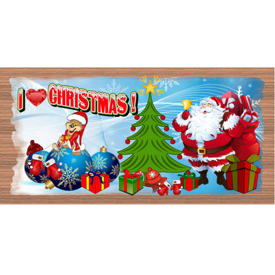 Christmas Wood Signs -GS 1481-Christmas Plaque