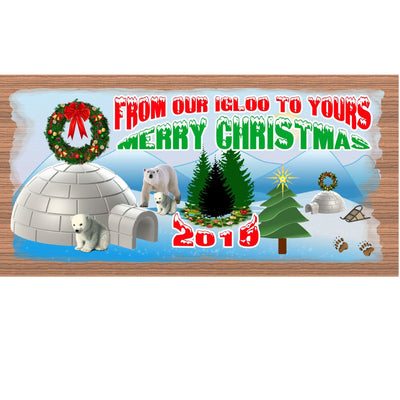 Christmas Wood Signs -GS 1447- Customizable Plaque