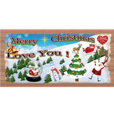Christmas Wood Signs - -GS 1452- Christmas Wood plaque