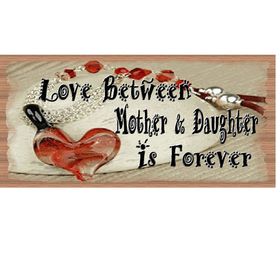 Mother & Daughter Wood Signs - Mother & Daugher Plaque  - GS 2221 -Mothers Day Sign