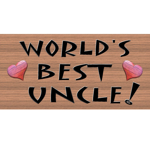Uncle Wood Signs - Uncle Plaque - GS 198-  Wood sign Uncle, Family wood sign uncle
