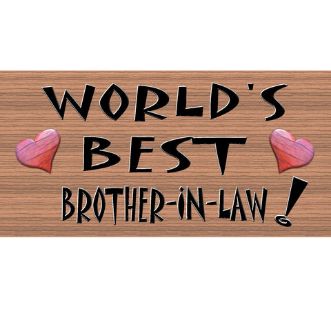 Wood Signs - Handmade wood sign Brother-In-Law ,GS163, Primitive Handmade wood sign Brother In Law, Brother in Law Wood Sign Handmade