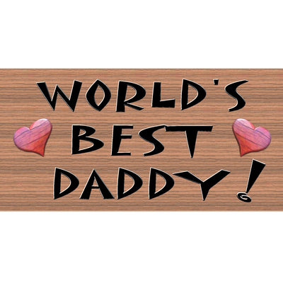Daddy Wood Signs -GS 167 -Dad Plaque