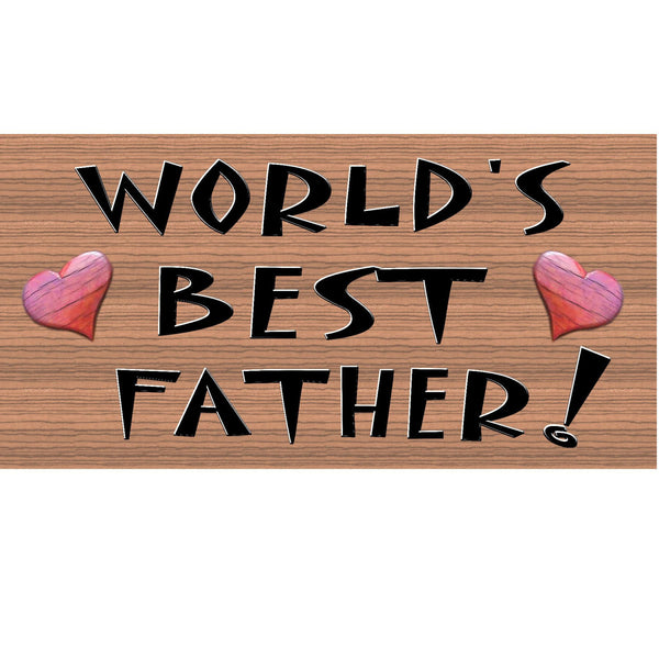 Wood Signs - Handmade wood sign Father, GS170, Primitve Handmade Father wood sign, Fathers day wood sign, Father handmade sign, Dad