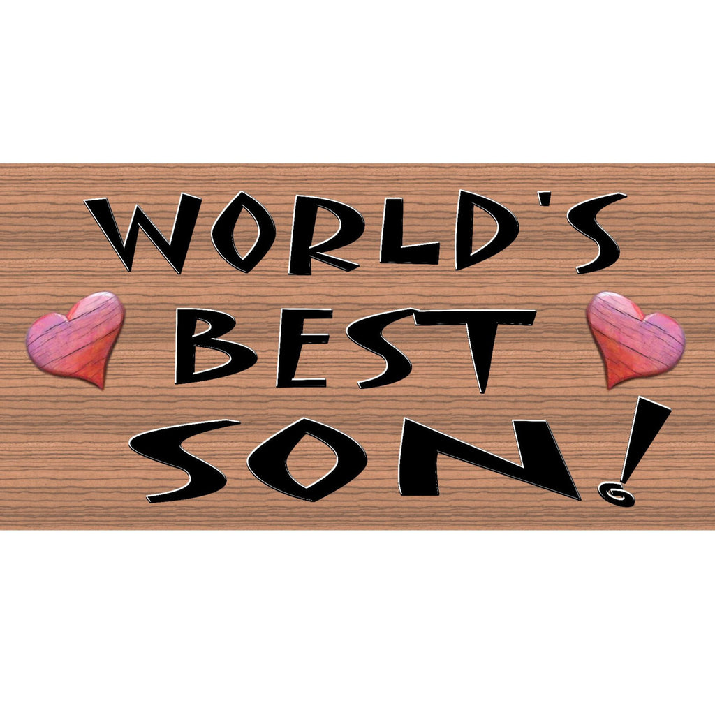 Wood Signs - Handmade wood sign Son ,GS196, Primitive Handmade wood sign son, Family wood sign son, Son wood sign handmade