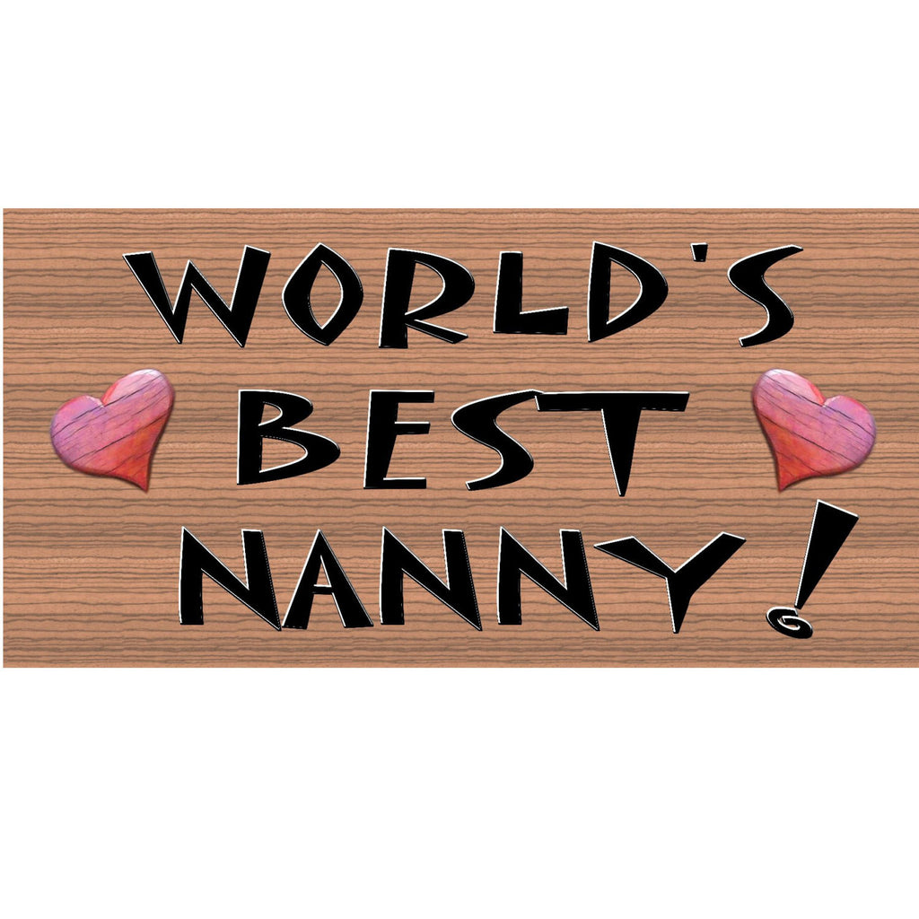 Wood Signs - Handmade wood sign Nanny, Primitive Handmade wood sign Nanny, GS190, Nanny wood sign, Grandmother wood sign