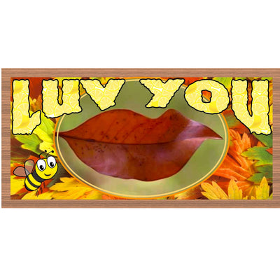 Romantic Wood Signs -GS 2180-Luv You