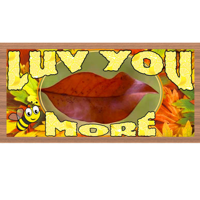Romantic Wood Signs - GS2191- Lu You More