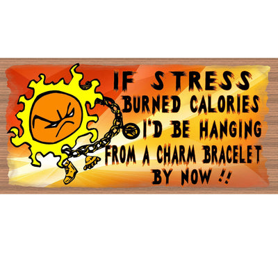Stress Wood Signs - GS 2225 - Office Plaque