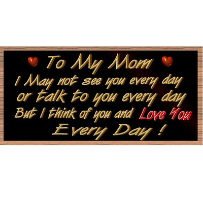 Mom Wood Signs - GS 2236-Mother Day Sign