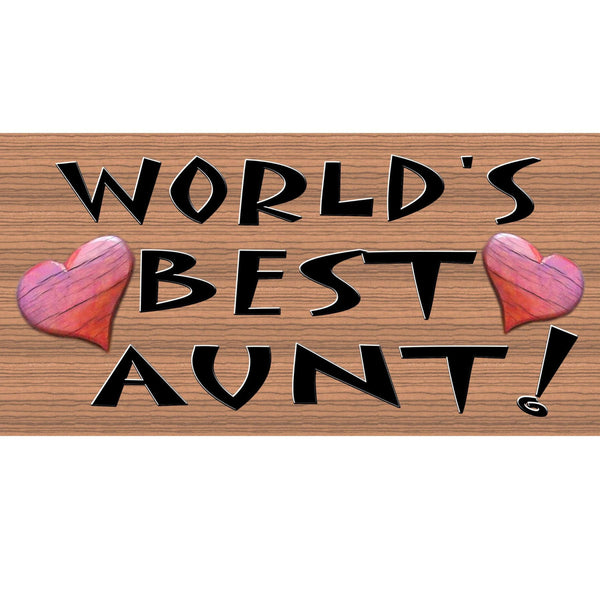 Wood Signs - Handmade Wood sign Aunt- Aunt plaque - GS159 Aunt wood sign - Aunt Primitive wood plaque - Aunt gift