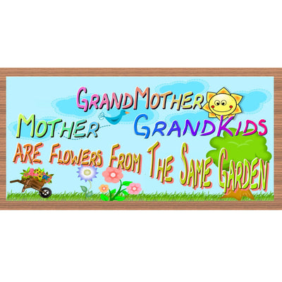 Grandmother Wood Signs -  GS 2318-Grandmother Plaque