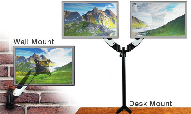 Miracle Desk monitor arms