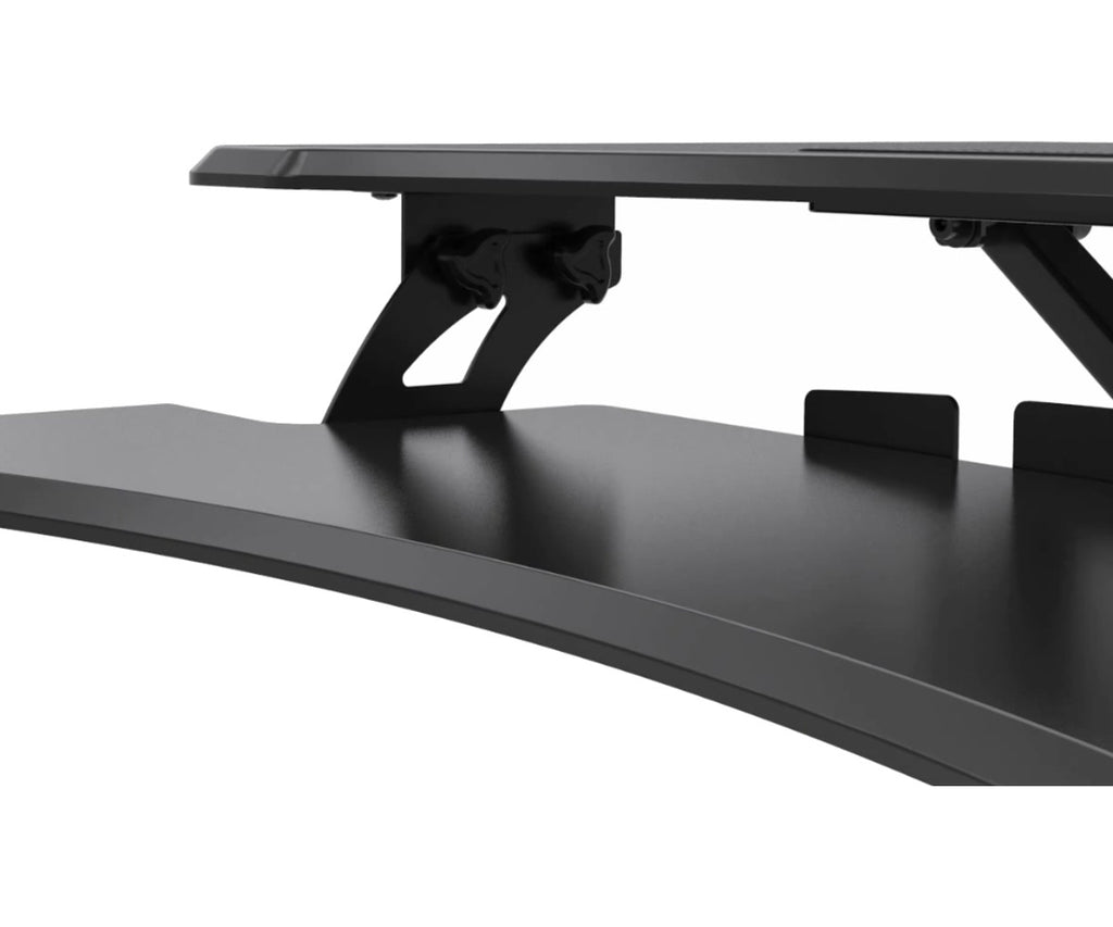 0-001647>Premium Adjustable Height Standing Desk Black