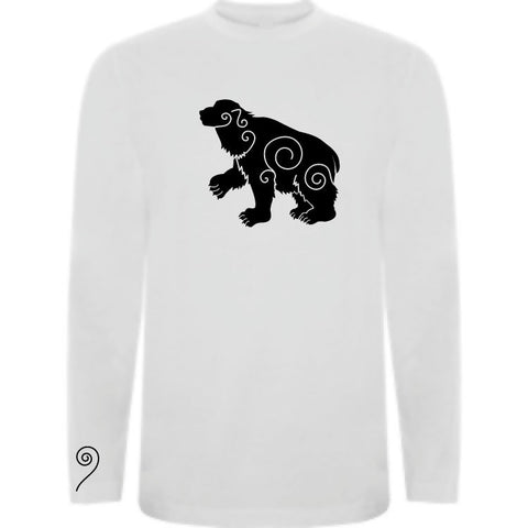 Camiseta manga larga chico - Oso