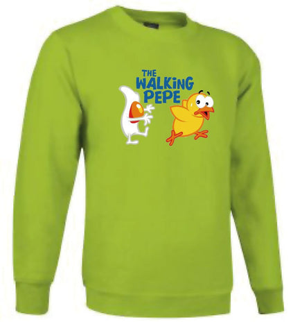 Sudadera sin capucha - The walking Pepe