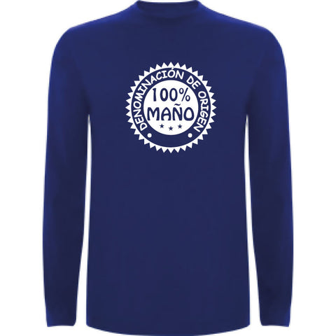Camiseta manga larga chico - 100% Maño