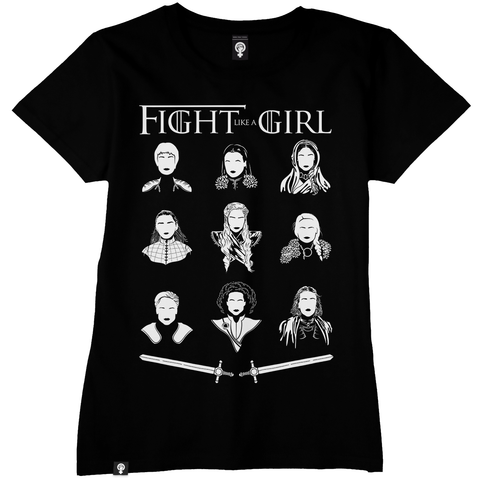 Camiseta Feminista Fight like a girl